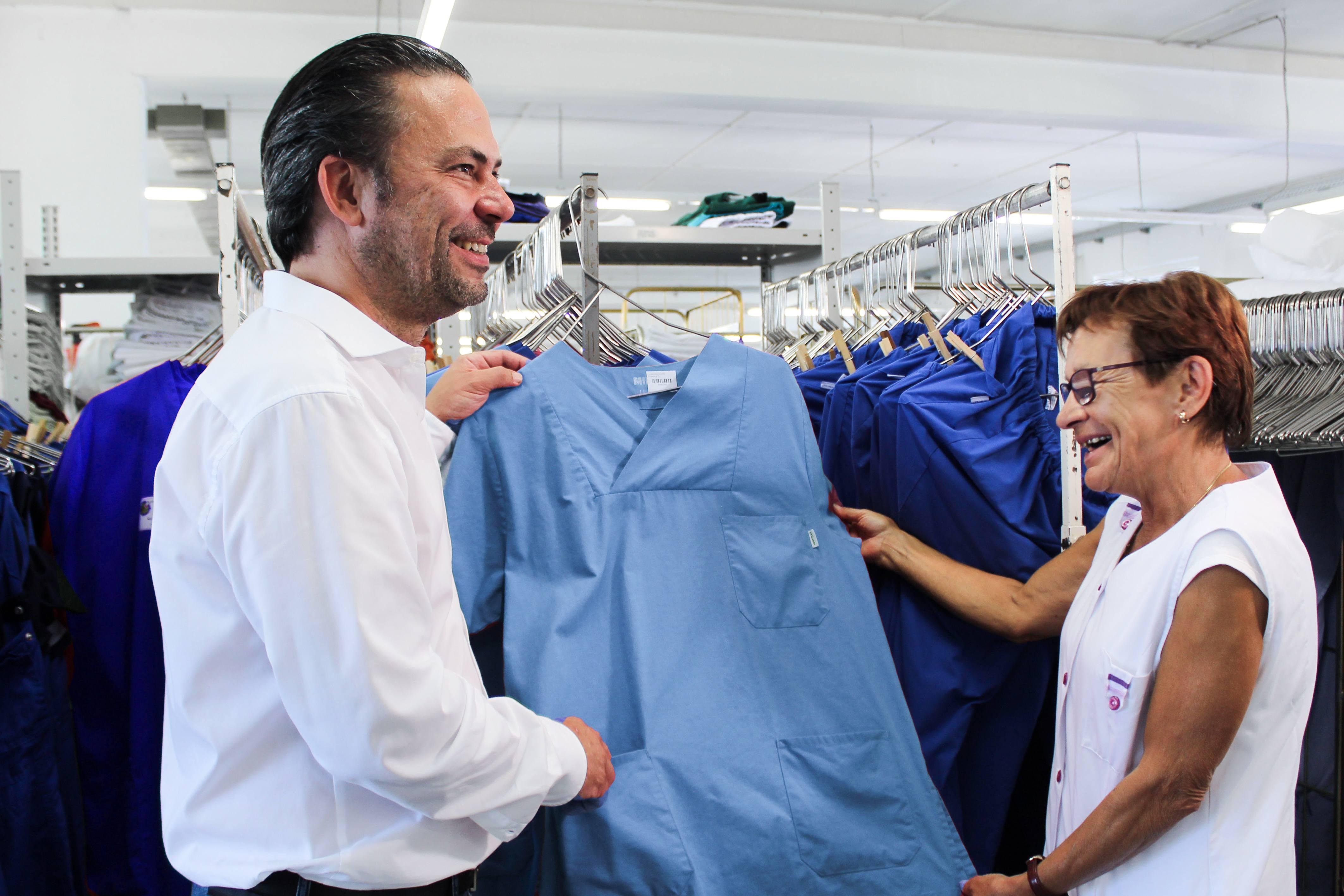 Rena Textilpflege Berufskleidung für die Pflege