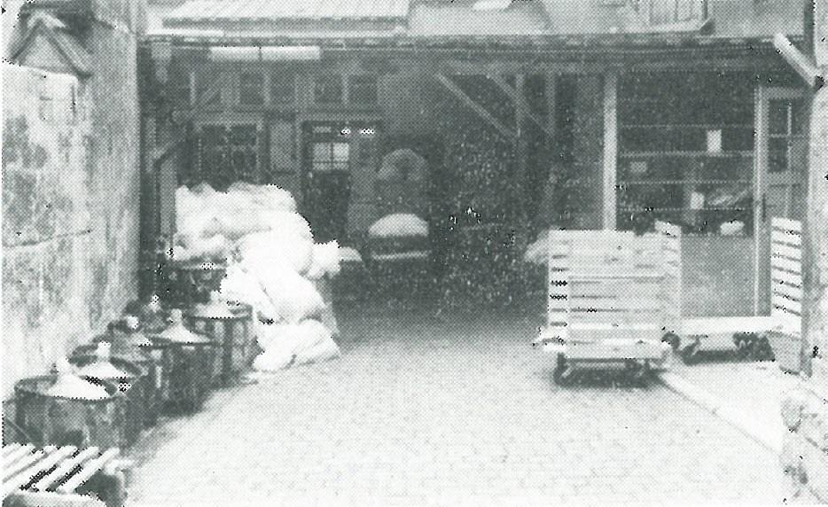 1964 Wäscherei Sömmerda Säurebehälter