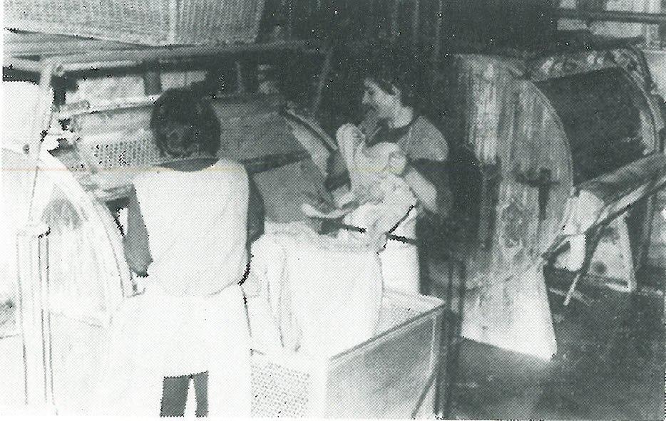 1964 Wäscherei Sömmerda Waschmaschine