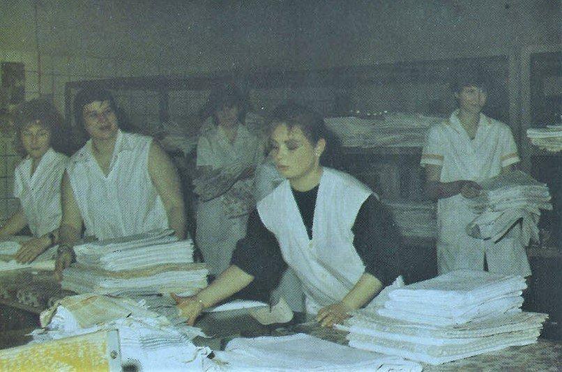 1987 VEB Wäscherei Sömmerda Expedit
