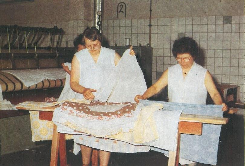 1987 VEB Wäscherei Sömmerda Mangel