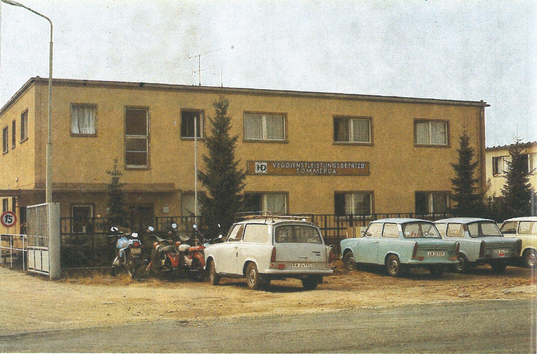 1989 VEB Dienstleistungsbetrieb Sömmerda